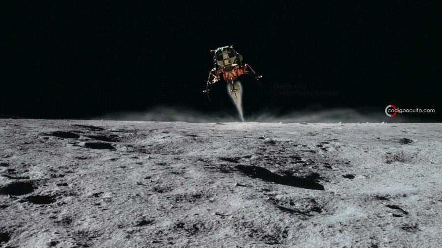 Anomalía en fotografía de la Luna
