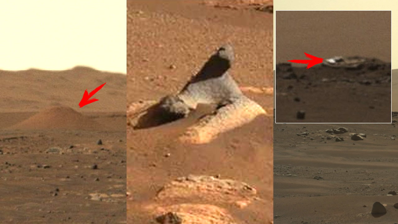 Perseverance ha encontrado objetos «extraños» en Marte