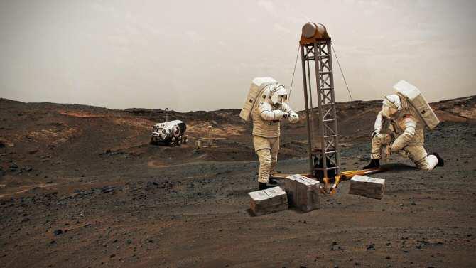 Puede existir vida subterránea en Marte