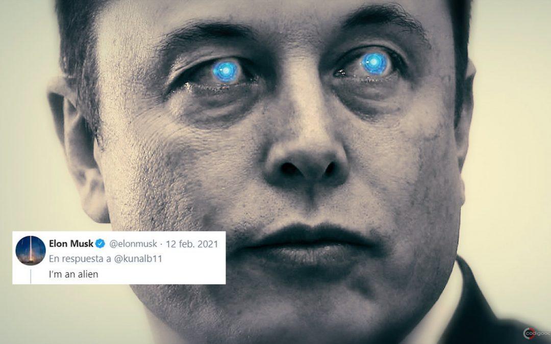 Elon Musk dice: «Soy un extraterrestre» en un extraño tuit