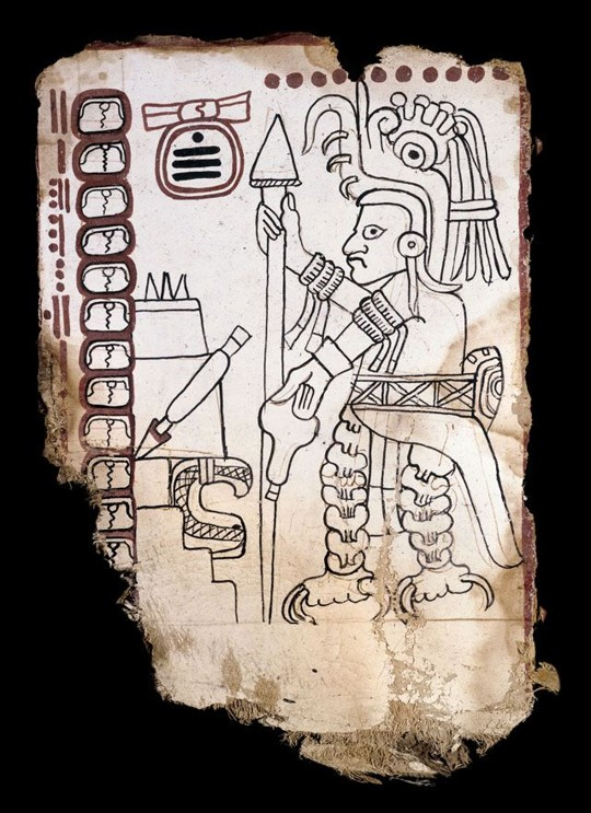 Códice Grolier, el libro más antiguo