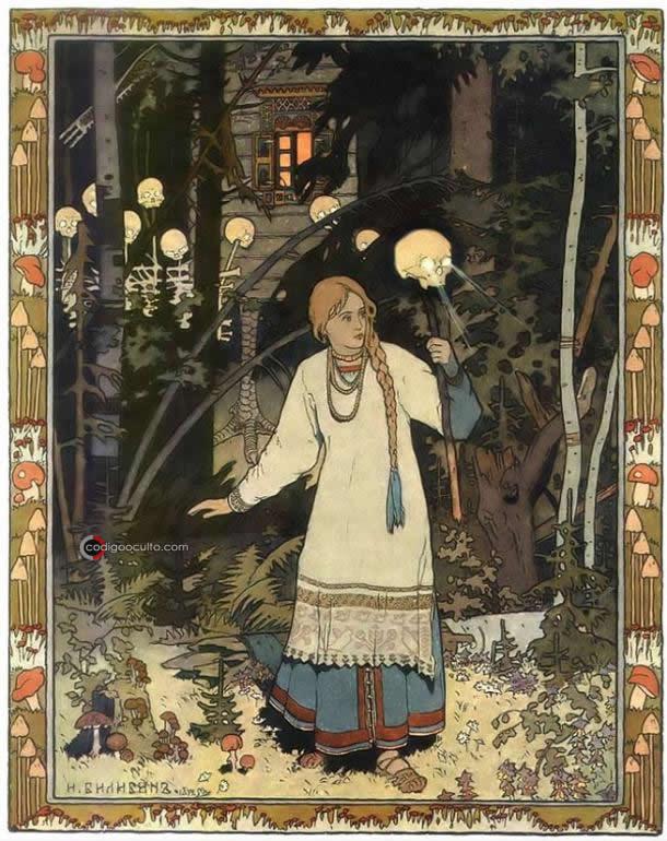 Baba Yaga: la escalofriante «bruja» de los bosques