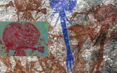Extraños petroglifos de «humanoides» de cabeza grande hallados en Tanzania (VÍDEO)