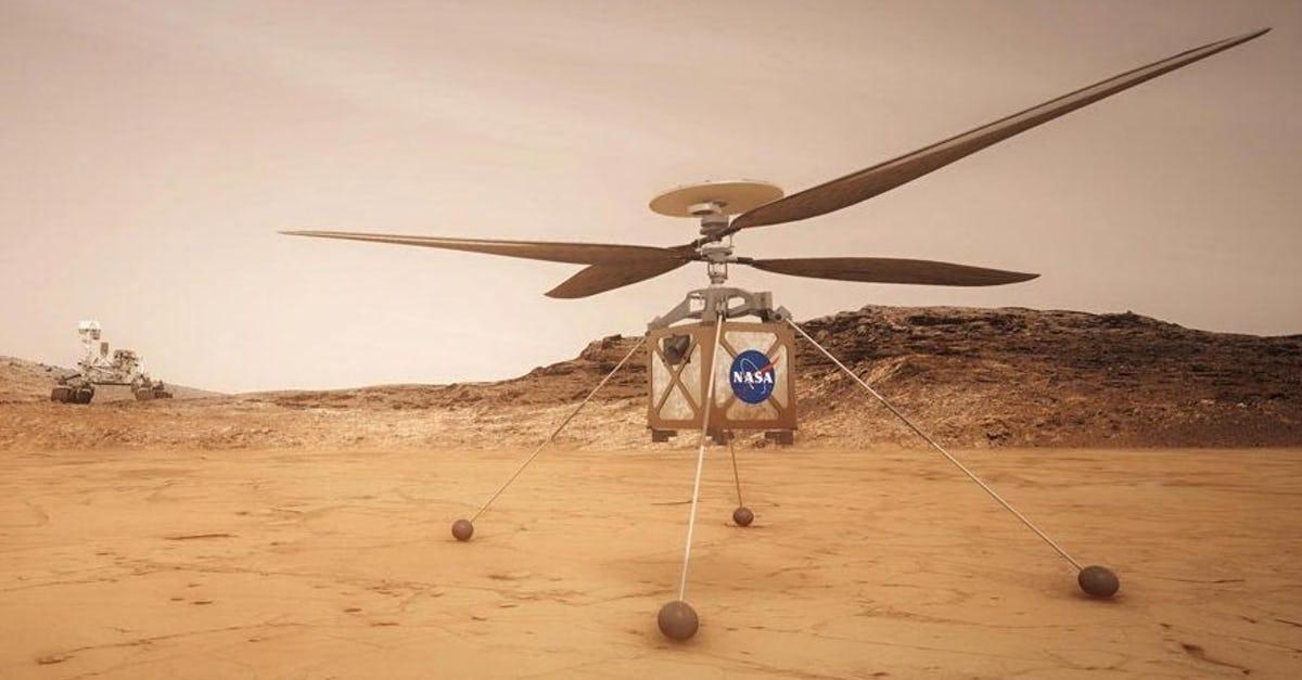 Rover Perseverance a punto de descender en Marte