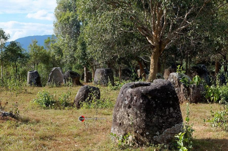 Llanura de las Jarras en Laos