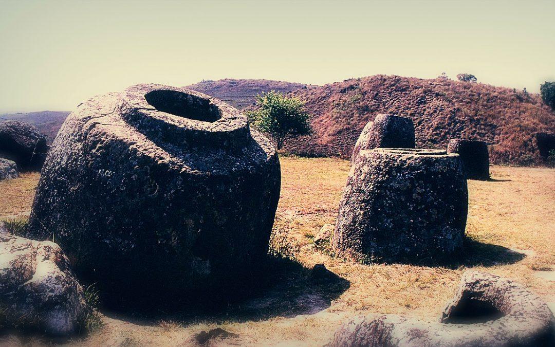 Revelado el misterio de estos antiguos y gigantescos recipientes de piedra en Laos