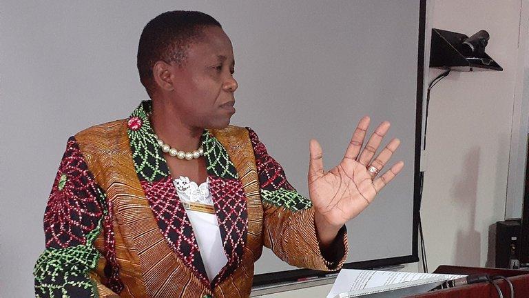 Dorothy Gwajika, Ministra de Salud de Tanzania