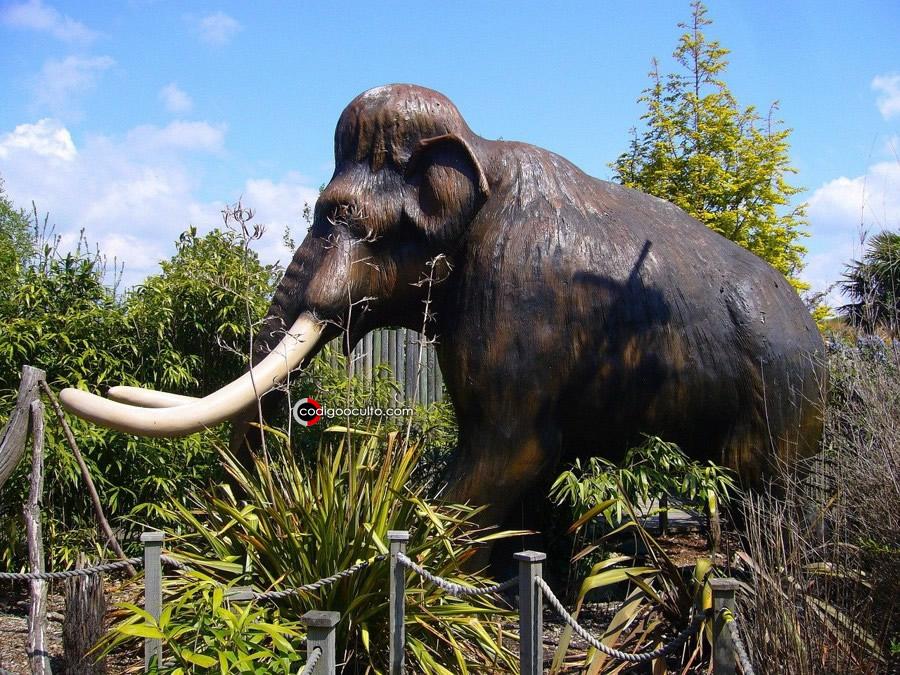 Representación de un mamut