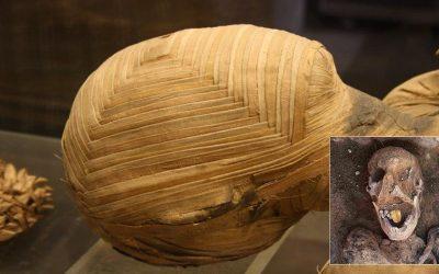 El extraño hallazgo de una momia con lengua de oro en Egipto