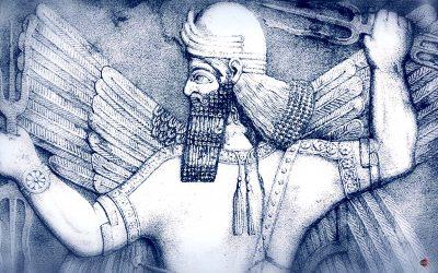 Ninurta, el poderoso dios guerrero sumerio