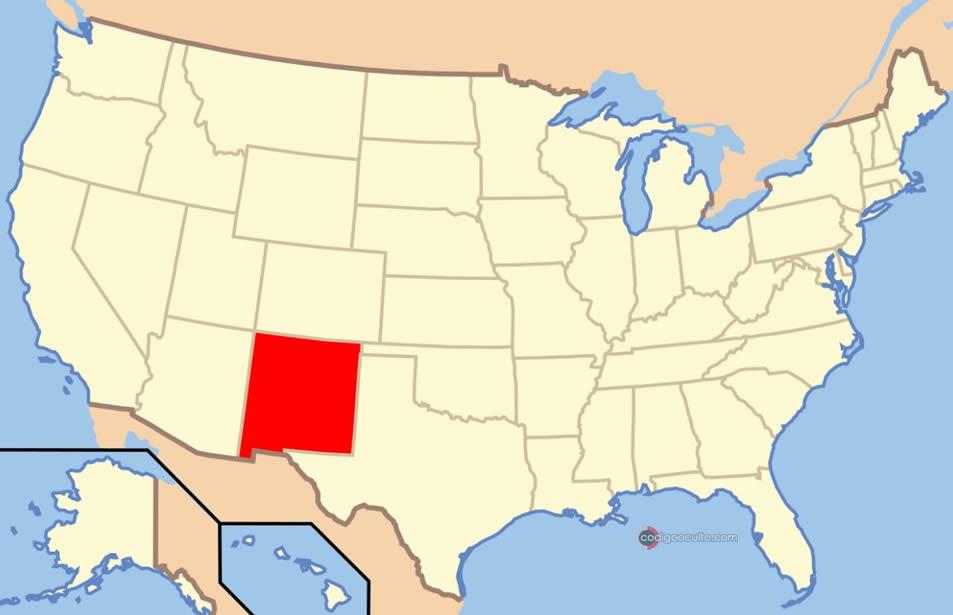 OVNI cilíndrico se encuentra con avión de pasajeros en Nuevo México