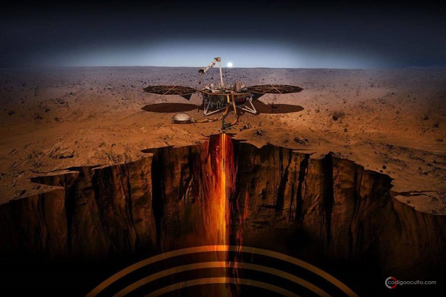 Puede existir vida subterránea en Marte y la Luna