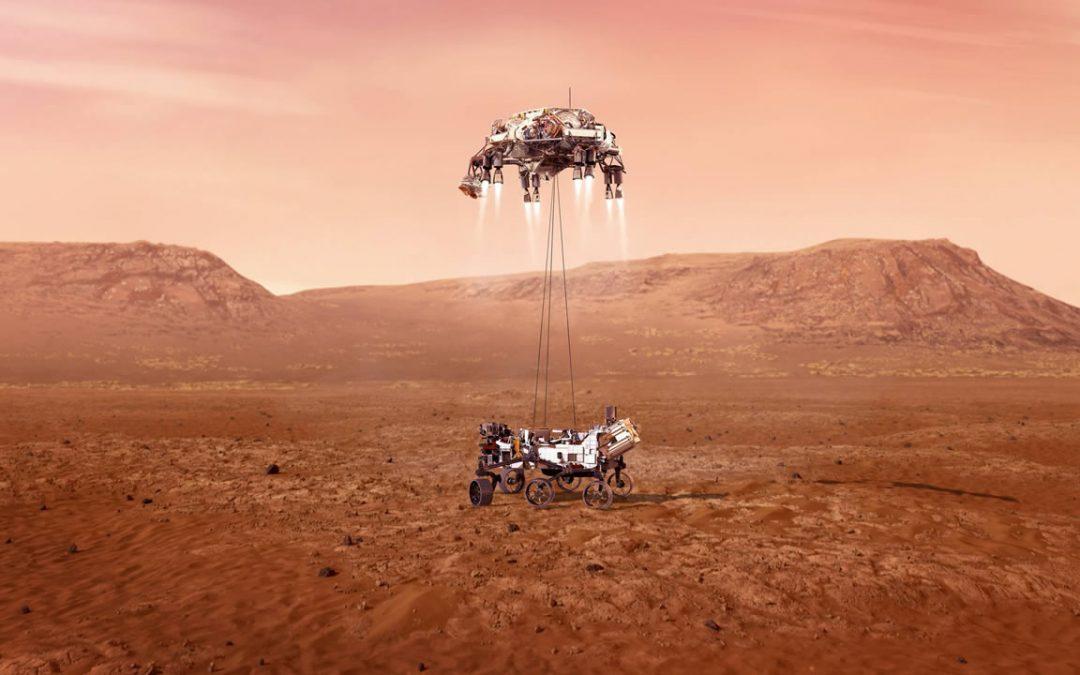 ENVIVO: Rover Perseverance ha llegado a Marte (VÍDEO)