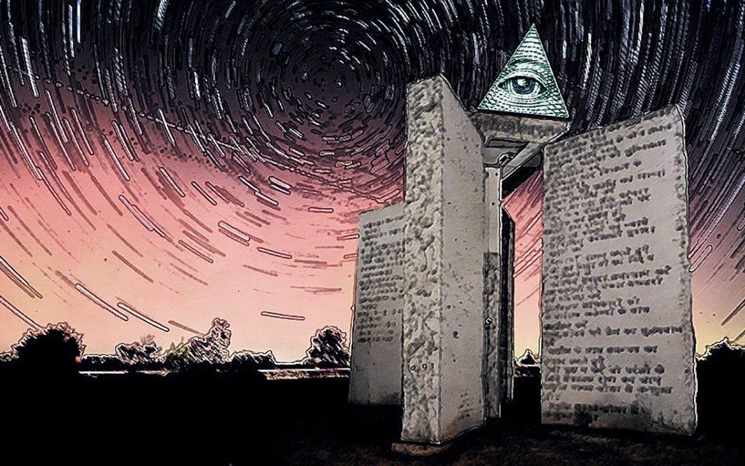 Piedras Guía de Georgia: mandamientos de la «Nueva Era de la Razón» (VÍDEO)