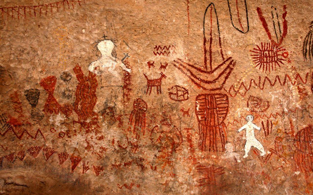 Pinturas rupestres en México indican una conexión entre antiguos humanos y el espacio