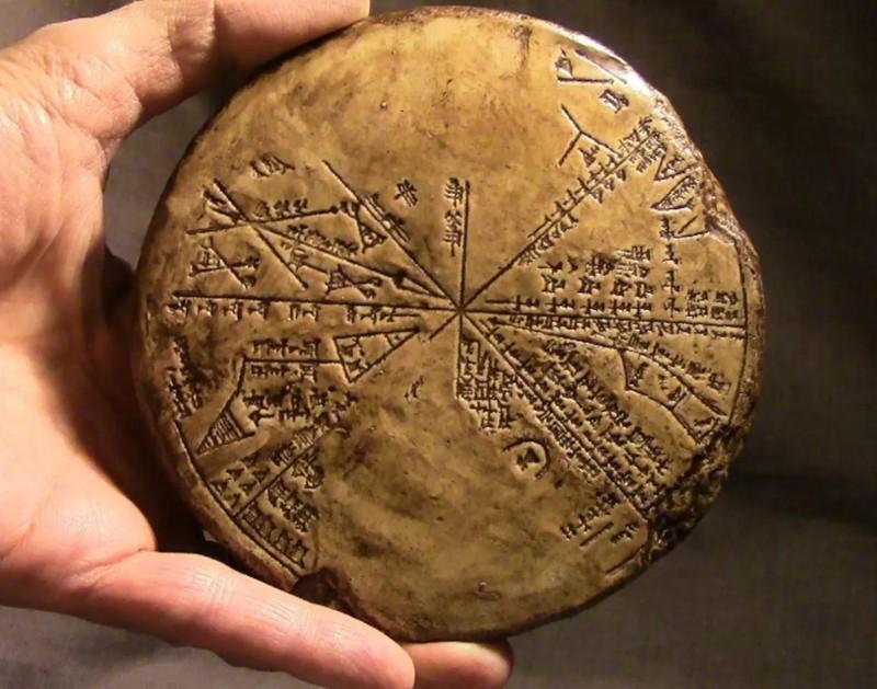 Planisferio Sumerio: un mapa de las estrellas de 5.500 años