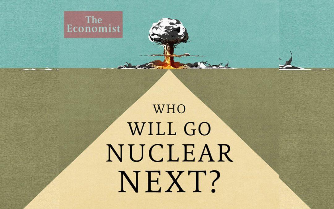 Portada de «The Economist» – Explosión nuclear cerca de Pirámide ¿Nuevo Plan de la Élite? (VÍDEO)