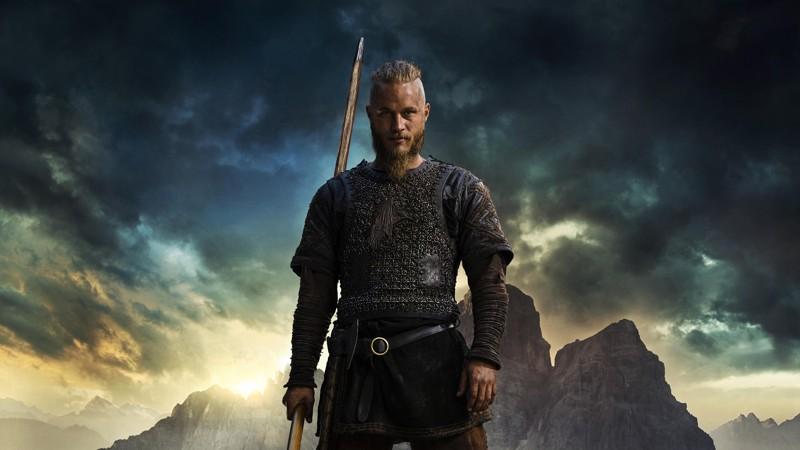 Ragnar Lodbrok en la serie Vikings