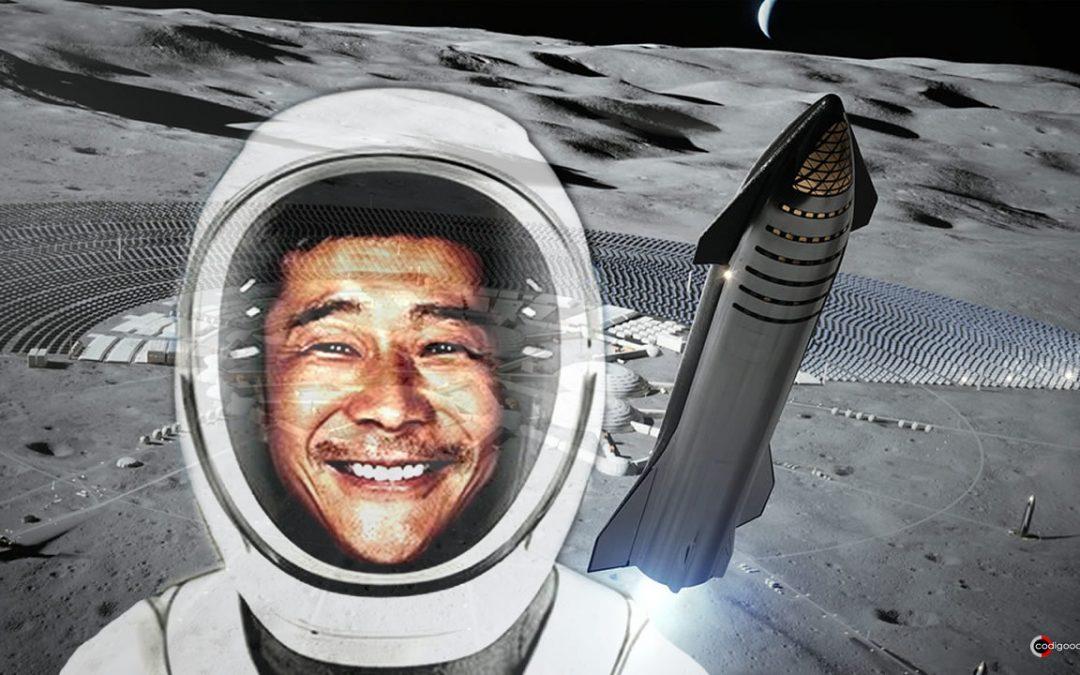 Multimillonario japonés busca a ocho personas para ir a la Luna