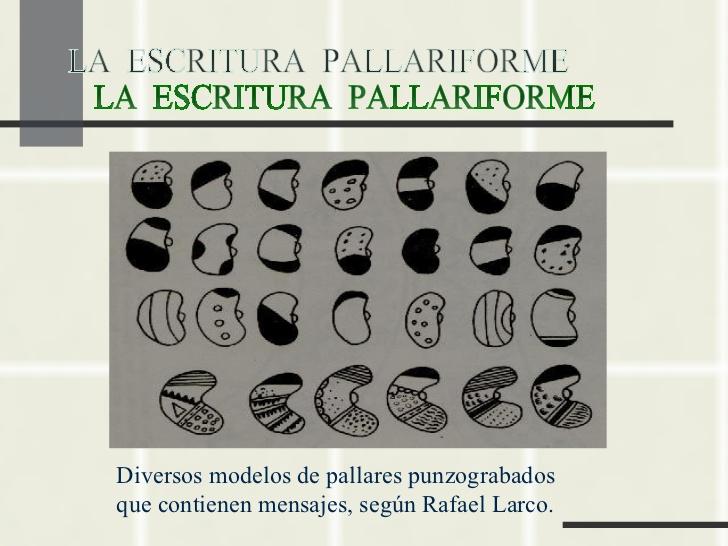 Escritura Pallariforme Mochica