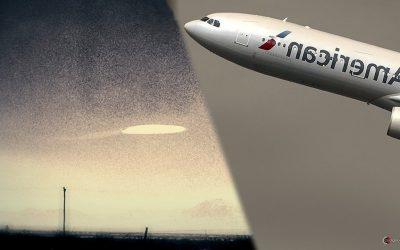 FBI confirma reporte de OVNI «largo y cilíndrico» que se acercó a avión sobre Nuevo México