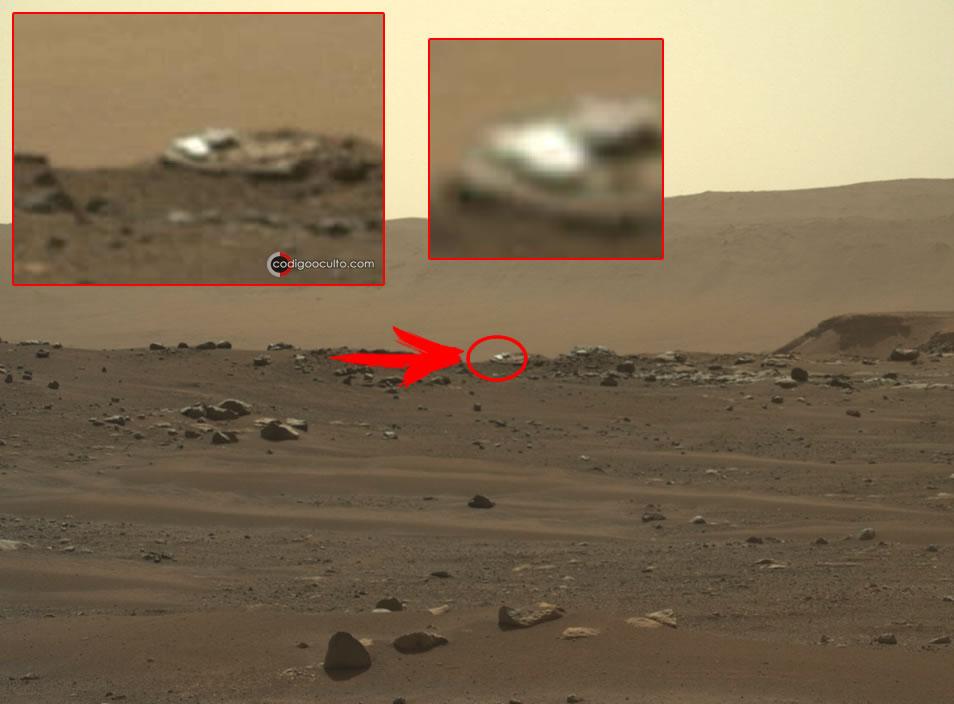 Anomalías y extraños objetos en Marte