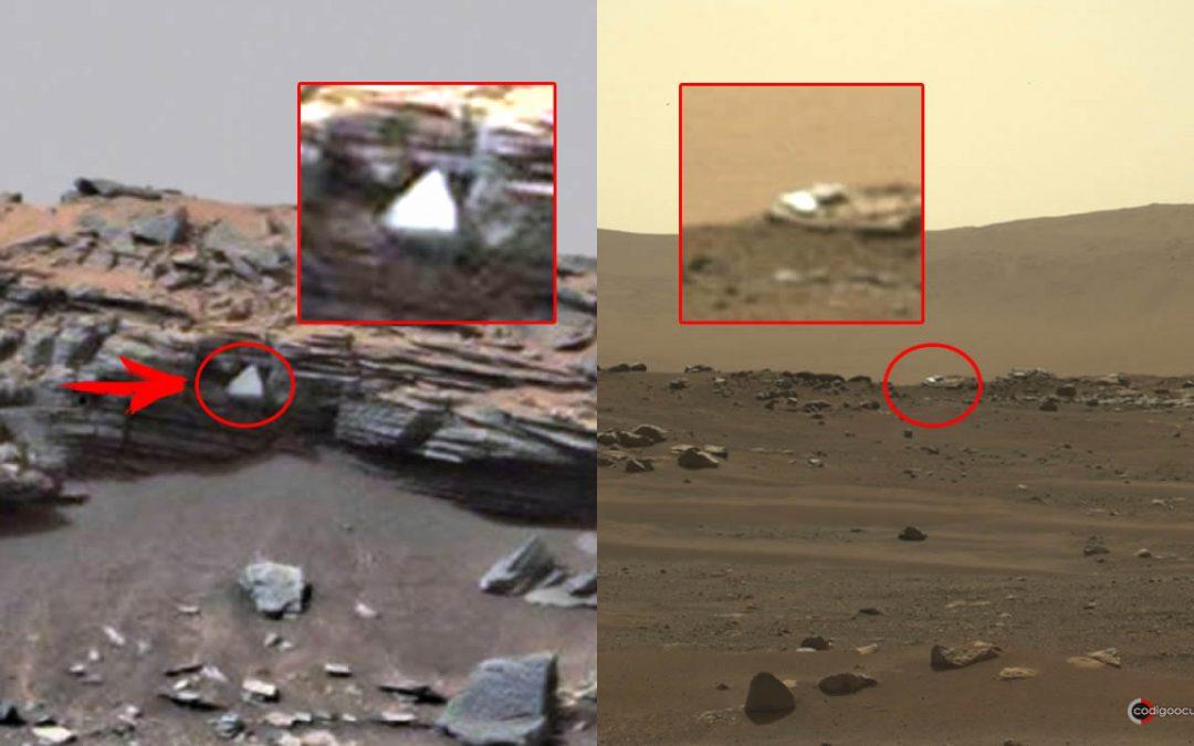 Objetos anómalos y extraños encontrados en Marte (VÍDEO)