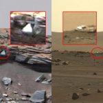 Objetos anómalos y extraños encontrado en Marte