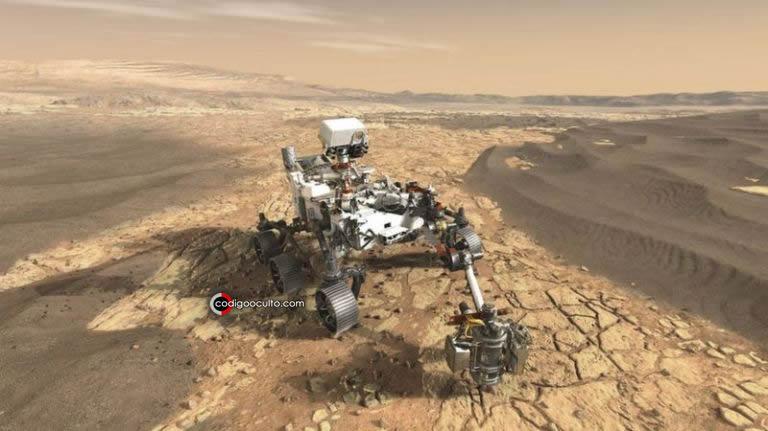 El Rover Perseverance explorará Marte durante al menos un año marciano (unos 687 días terrestres)