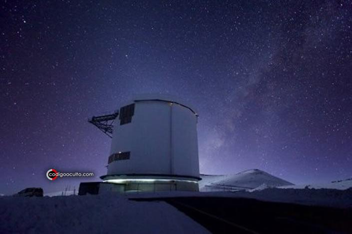 El telescopio James Clerk Maxwell o JCMT