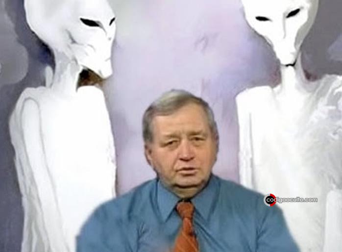 Charles Hall y su encuentro con extraterrestres Blancos Altos