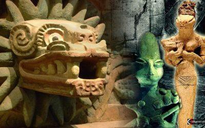 Dioses serpiente presentes en civilizaciones antiguas