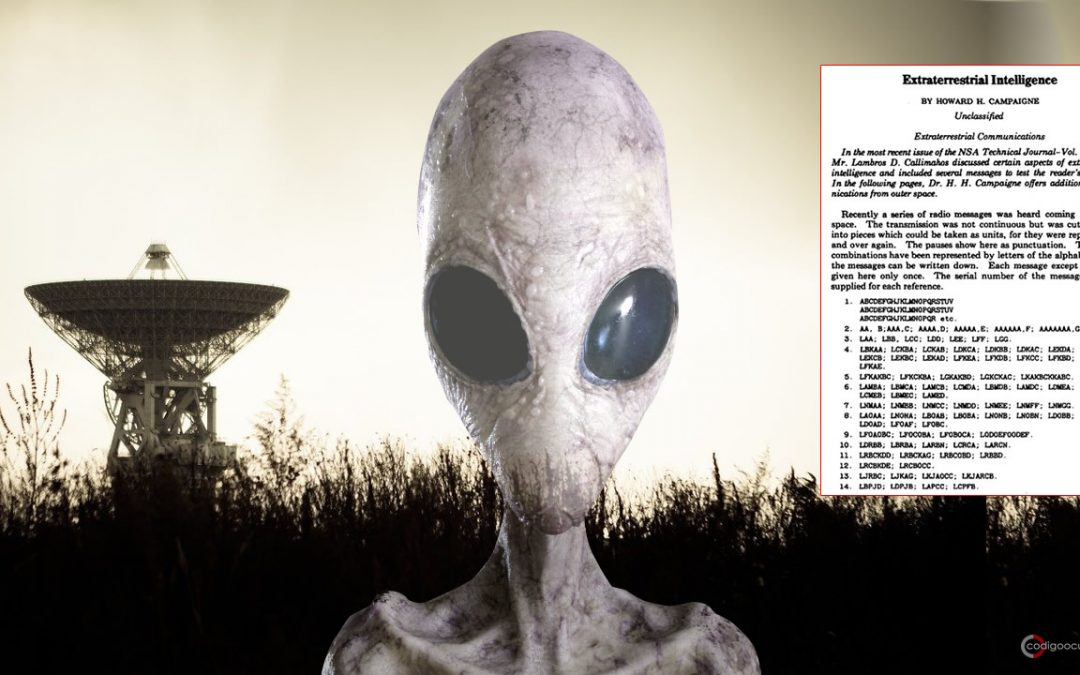 Documento desclasificado menciona recepción de «29 mensajes extraterrestres» (VÍDEO)