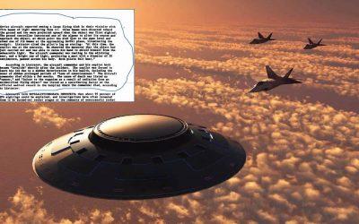 Encuentro con OVNI acabó con la vida de piloto ruso, según indica documento de la CIA