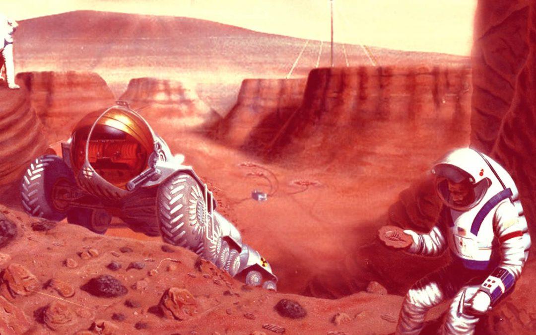 Marte está lleno de vida, pero bajo la superficie, dice investigadora de SETI