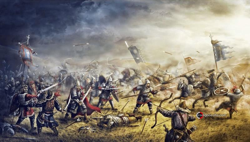 Campañas de guerra de Gengis Kan