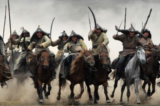 Gengis Kan y su ejército