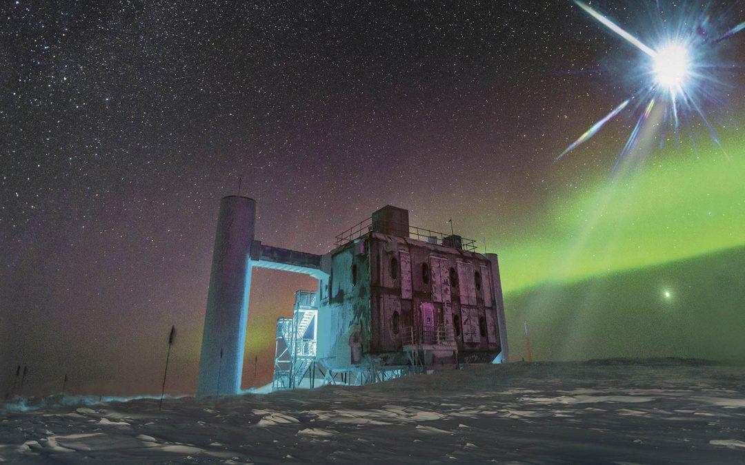 Es oficial: partícula de antimateria se estrelló contra la Antártida (VÍDEO)