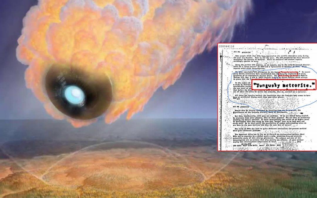 Tunguska: científicos concluyeron que «nave alienígena» causó explosión, según archivo de la CIA (VÍDEO)