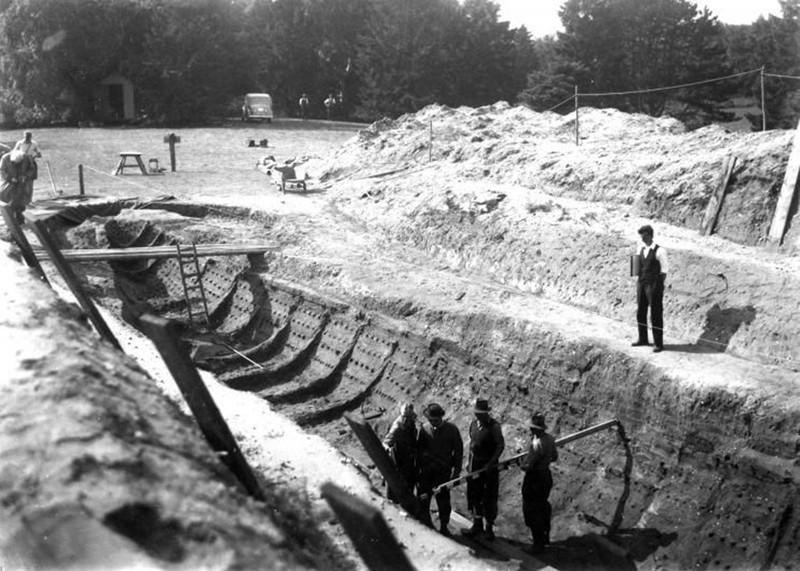 Sutton Hoo fue el descubrimiento del mayor barco funerario de Europa