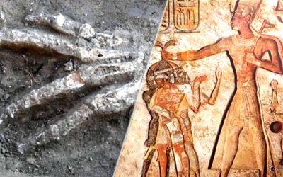 Manos gigantes descubiertas en fosas de 3.600 años en Egipto