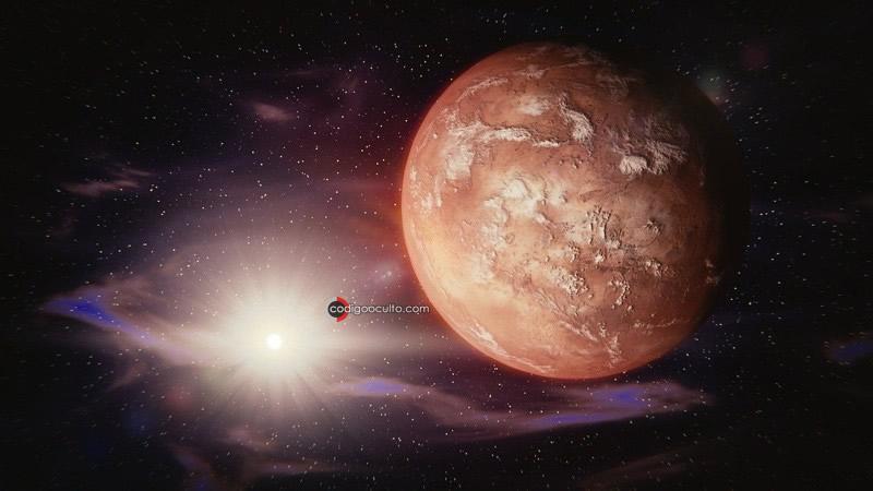 Tormentas de polvo de Marte llegan a la Tierra
