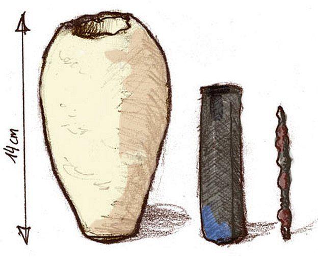 Componentes de la Pila de Bagdad