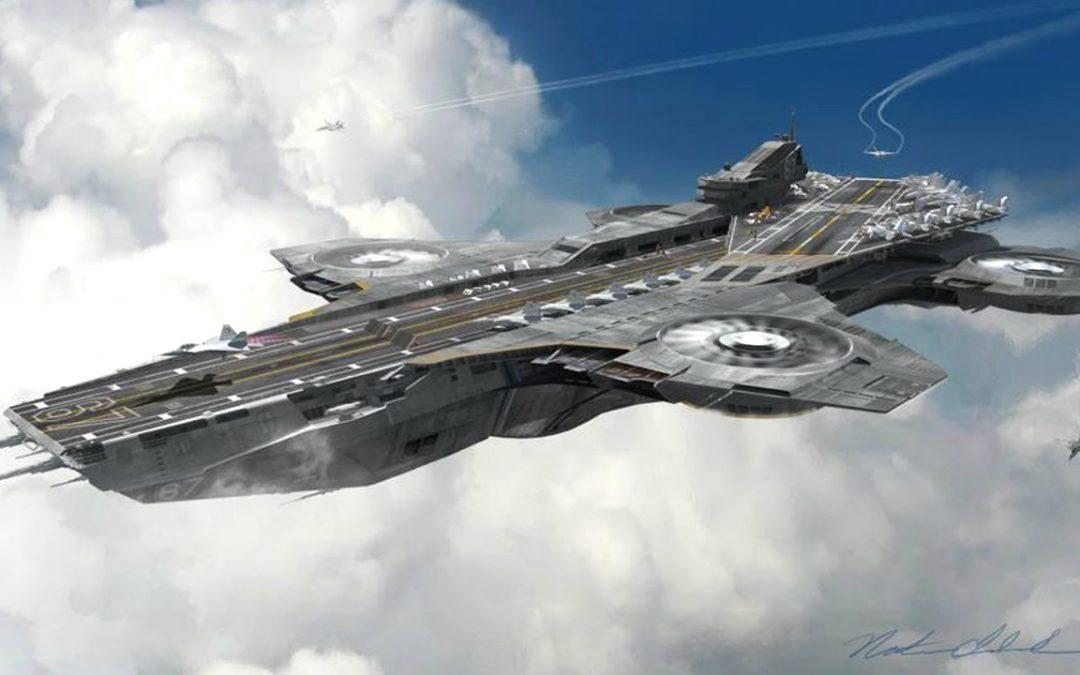 ¿Helicarrier? Pentágono está trabajando en un portaaviones volador gigantesco