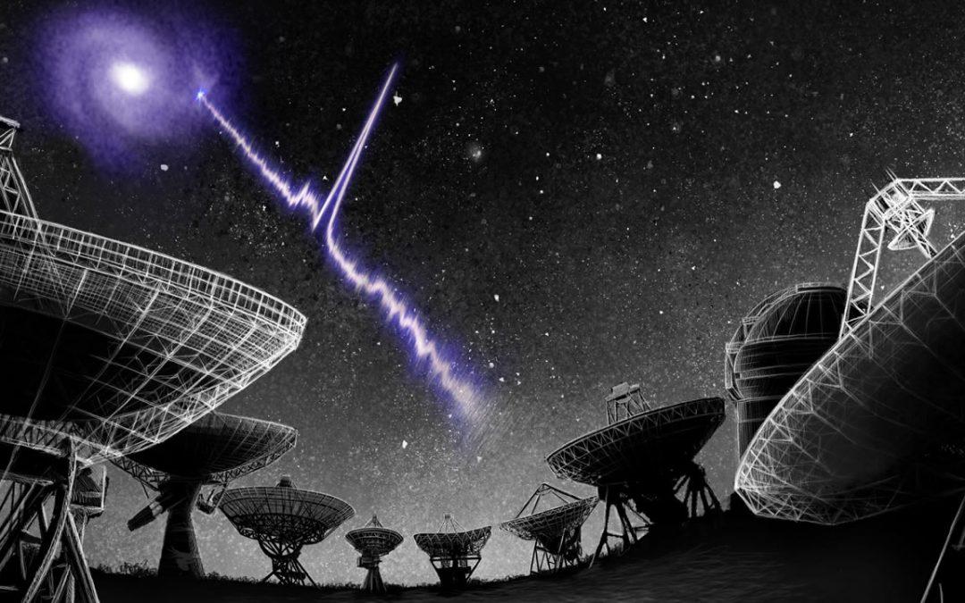 Señal de radio del espacio profundo revela un sorprendente patrón