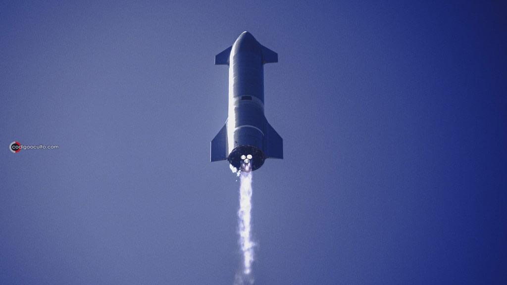 Cohete Starship de SpaceX