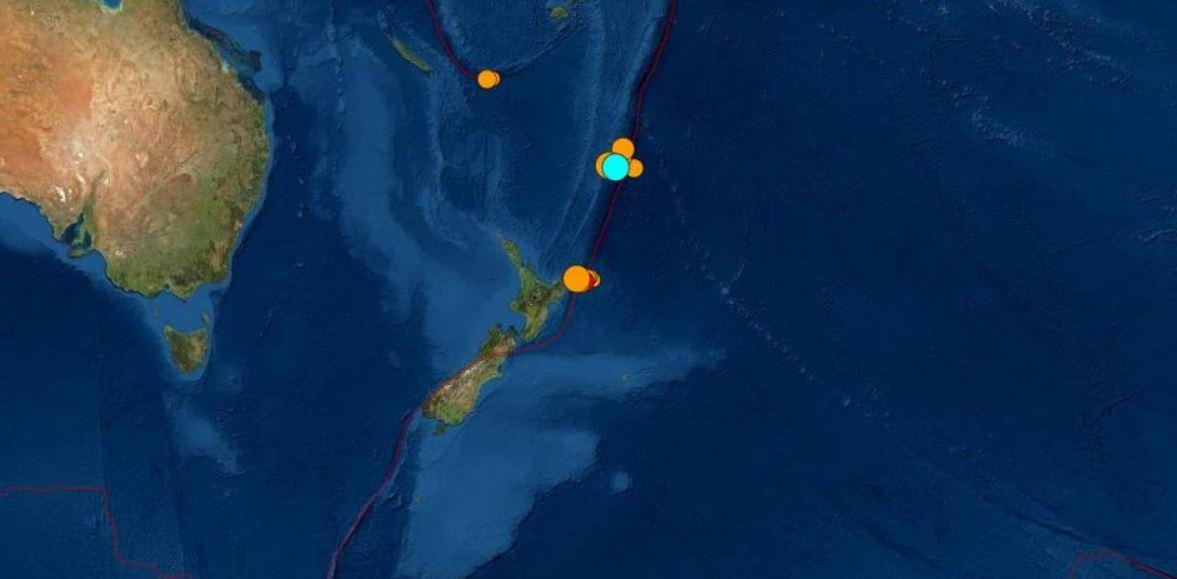 Tres terremotos golpean a Nueva Zelanda