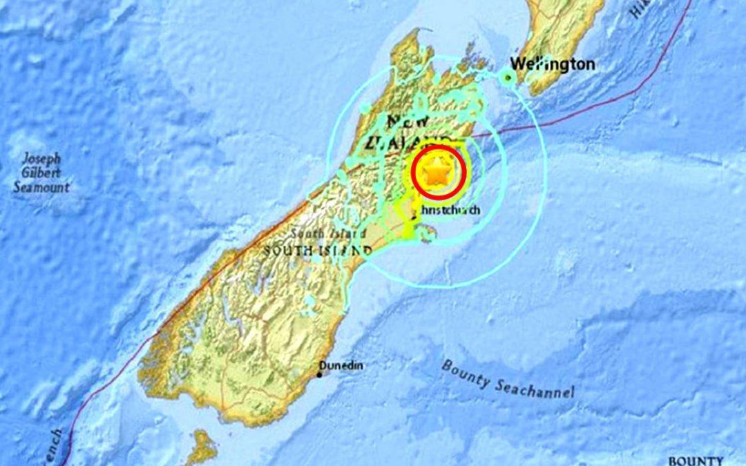 Tres terremotos golpean Nueva Zelanda en menos de 24 horas: 7.2, 7.4 y 8.1