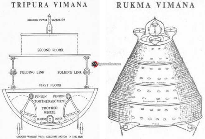 Vaimanika-shastra, antiguo libro de India para construir naves interplanetarias