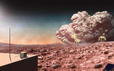 Marte está rociando a la Tierra con tormentas de polvo, dicen investigadores